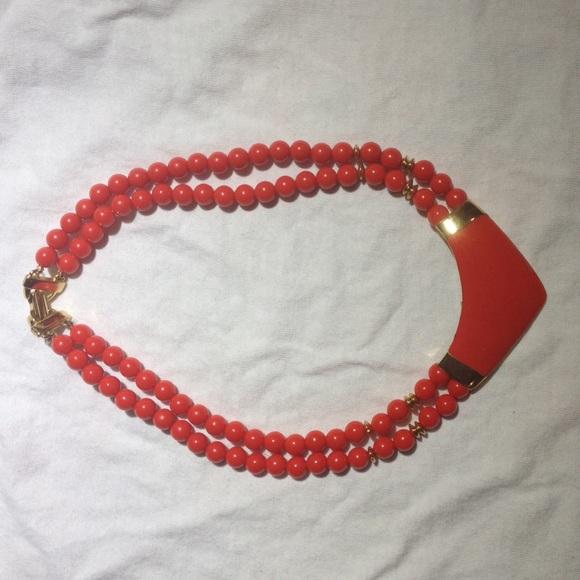 Jewelry - Retro red necklace